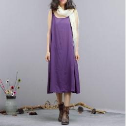 Сарафан Madam Boho (фиолетовый)