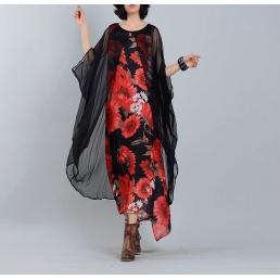 Платье Пальмира (красный)