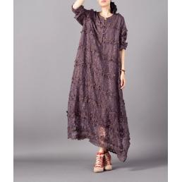 Платье Бони (сиреневый)