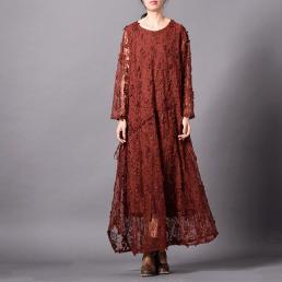 Платье Виола (кирпичный)