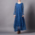 Платье Виола (синий)
