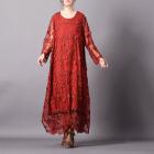 Платье Глафира (кирпичный)