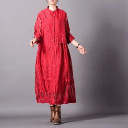 Платье Илона (красный)