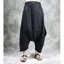 Штаны-шаровары (черные)