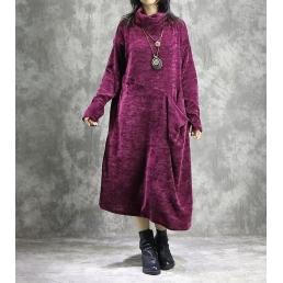 Платье Ава (бордовый)