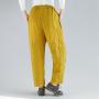 Яркие теплые брюки с цветами