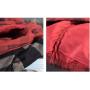Теплая юбка в клетку (красный)